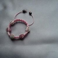 Pave Rhinestone Bracelet for babies and toddlers