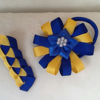 Handmade Back to School Hair Accessories - price for a pair
