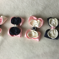 Hair clips (also available as hair bobbles)