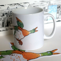 'Hilda's Flying Ducks' Mug (Inspired by Coronation Street)