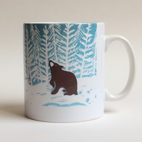 Stargazey Bear Large Ceramic Mug (just add your fave drink!)