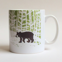 Little Bear Large Ceramic Mug