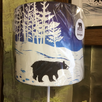 'Follow The Leader' Bear Family Lampshade