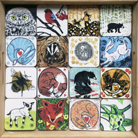 Coasters Pick & Mix (choose any four)