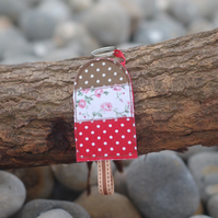 Lolly Key Ring Bag Charm Fun Retro Summer Free UK P&P
