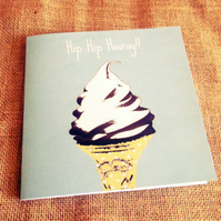 Fun Ice Cream Birthday Card