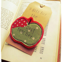Apple Brooch Best Teacher Gift
