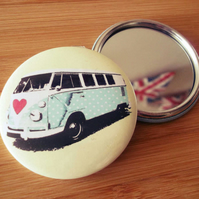 VW Splitty Camper Pocket Mirror