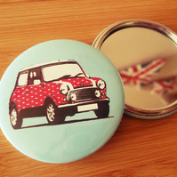 Classic Mini Pocket Mirror