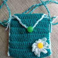Child's Emerald Green Bag