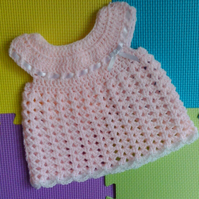 First Size Crochet Baby Dress