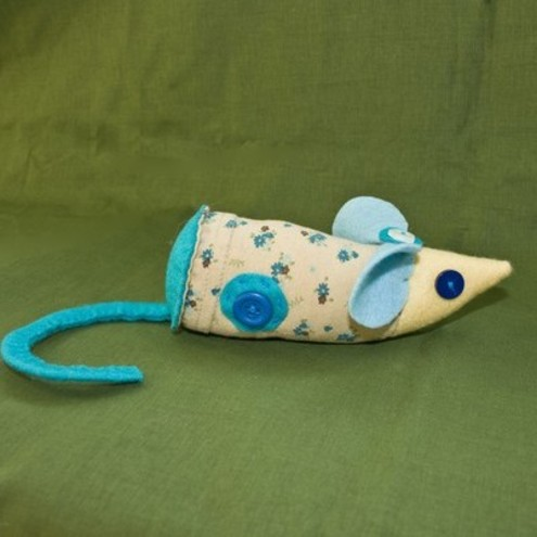 Retro 70's Style Bluebell Mouse