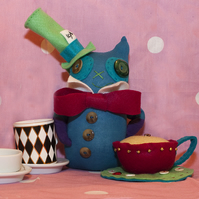 Alice In Wonderland - The Mad Catter CUSTOM ORDER ONLY