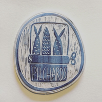 Pilchards Wall Plaque