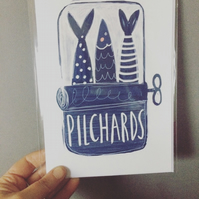 Pilchards card