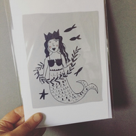 Mermaid of Zennor card