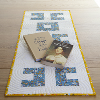Quilted Spirals Patchwork Table Runner