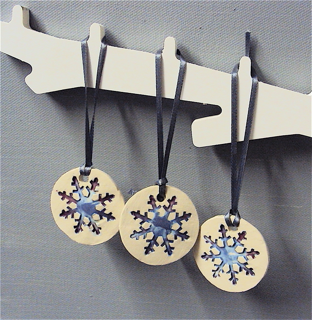Snowflake Decorations Set