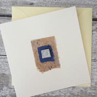 Handmade, bespoke Gift card, one off design, greetings card