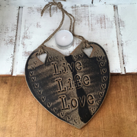 Ceramic hanging novelty boards, kitchen, cafe, restaurant, home decor