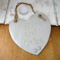 Handmade Ceramic novelty hanging board, home decor, stoneware pottery