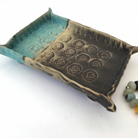 Bespoke ceramic soap dish, ring dish, pottery gift idea, home decor