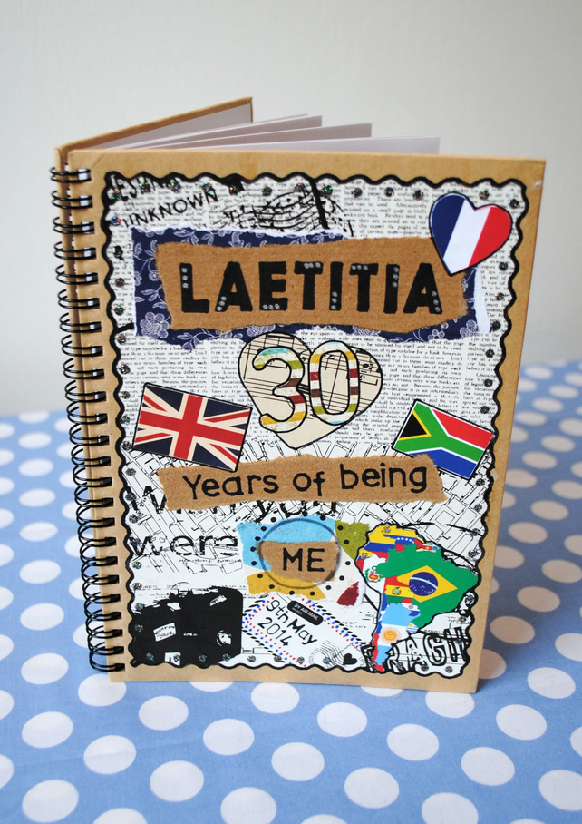 Personalised Notebook Journal A5
