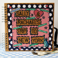 Scrapbook Travel Album- Personalised