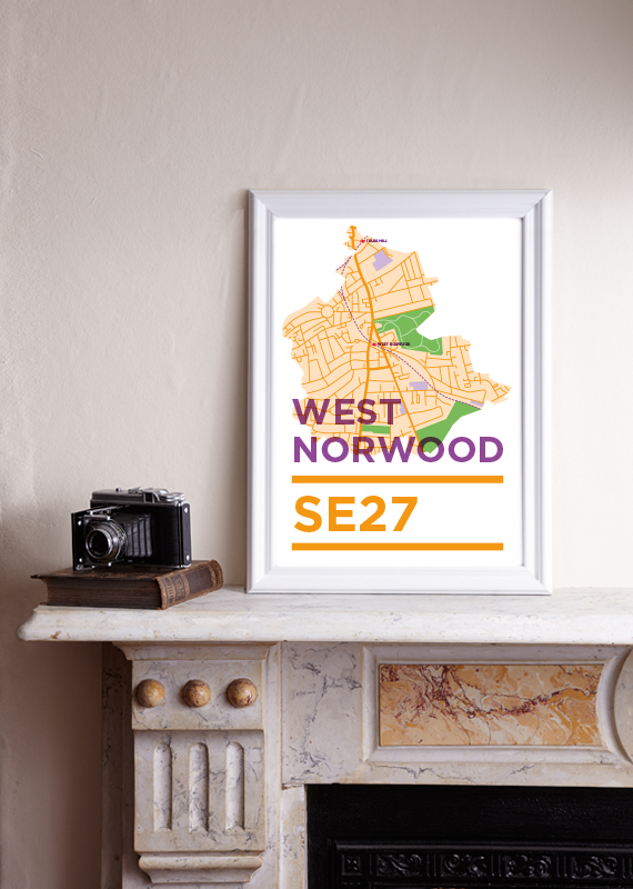 SE27 - West Norwood Print