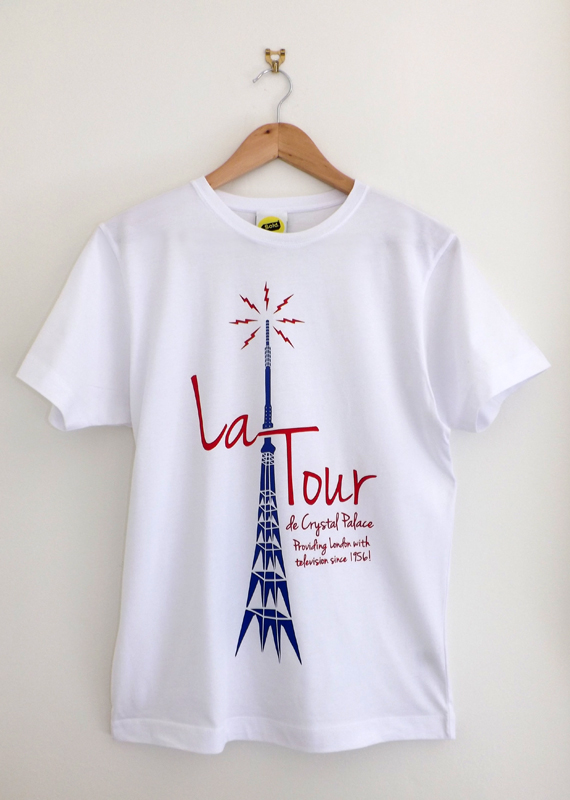La Tour (White – Mens T Shirt)