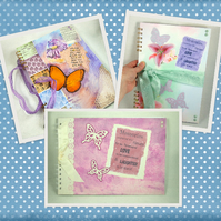 Large A4 Scrapbook, Album or Journal Made to Order  - your chosen theme & colour