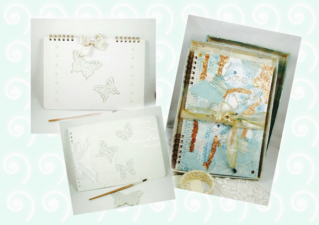 Personalised Wedding Album Scrapbook A4, Wedding Planner, Wedding Guest Book
