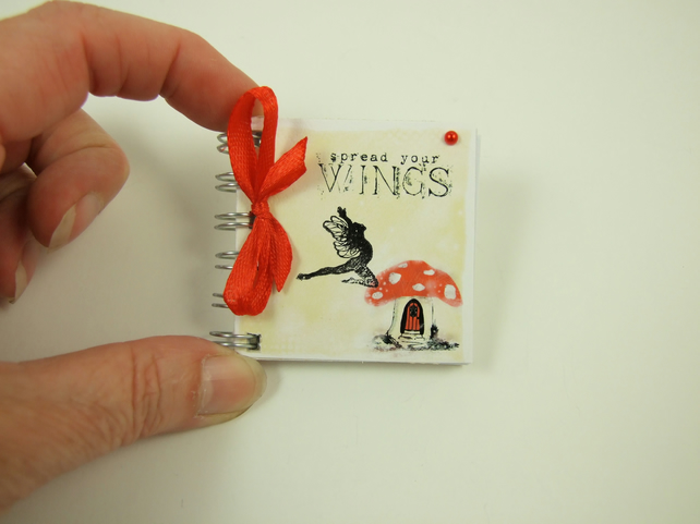 Miniature Notebook, Emergency Contact, Address Book, Fairy