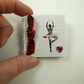 Miniature Notebook, Emergency Contact, Address Book, Ballet Dancer