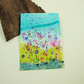 ACEO Miniature Painting, Summer Meadow Lilac