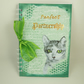 Journal, Handmade Notebook,  A5 Size, Perfect Partnership, Cat Lovers Book