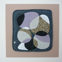 Ring of Pebbles - Patchwork and Appliqué Textile Picture