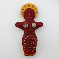 Elements Goddess Earth Art Doll