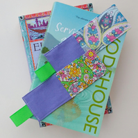 Two Patchwork Bookmarks - Gift For A Book Lover