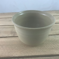 Hand-thrown bowl