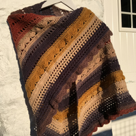 Earthy Hand Crafted Shawl