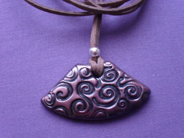 Polymer Clay Pendant  PY006