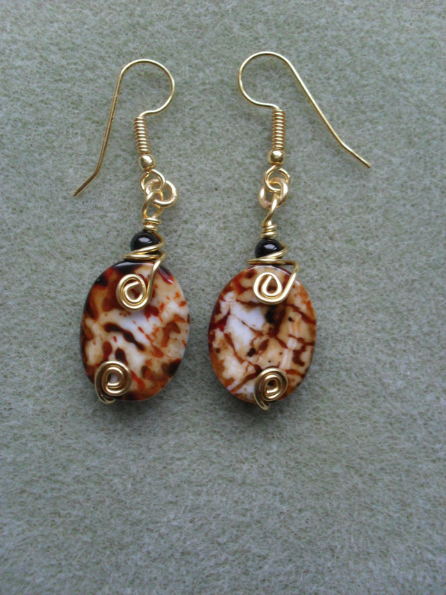Mystic Agate Earrings
