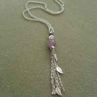 Long Amethyst Necklace