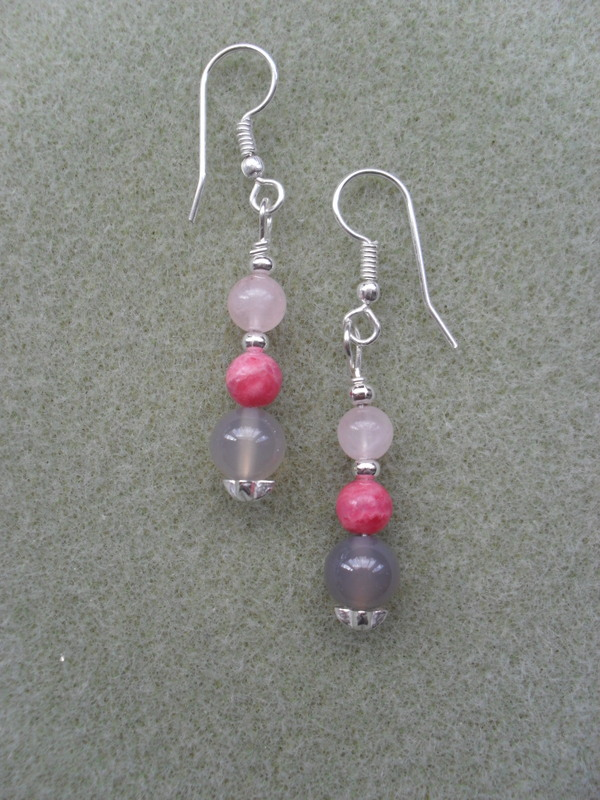 Semi Precious Gemstone Earrings