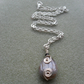 Small Agate Drop Pendant Necklace Stocking Filler