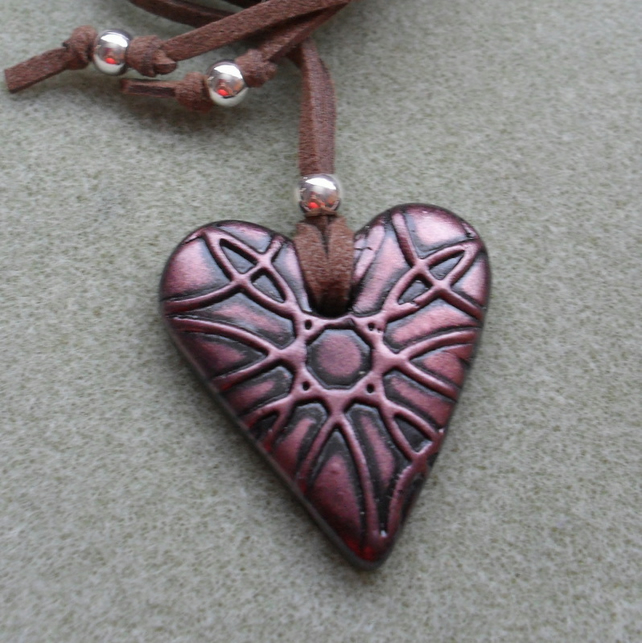Polymer Clay Pendant  PY002