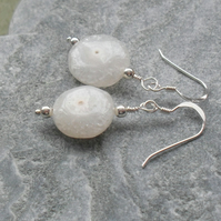 Solar Quartz Sterling Silver Earrings