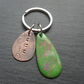 Mum Copper Keyring Gift For Mum