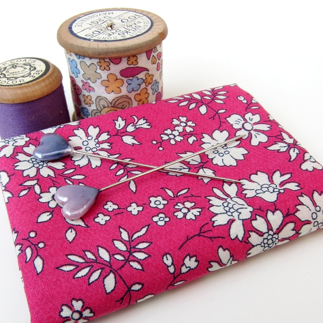 Capel, dark pink, at Very Berry Fabrics
